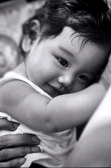 crianza respetuosa abrazo